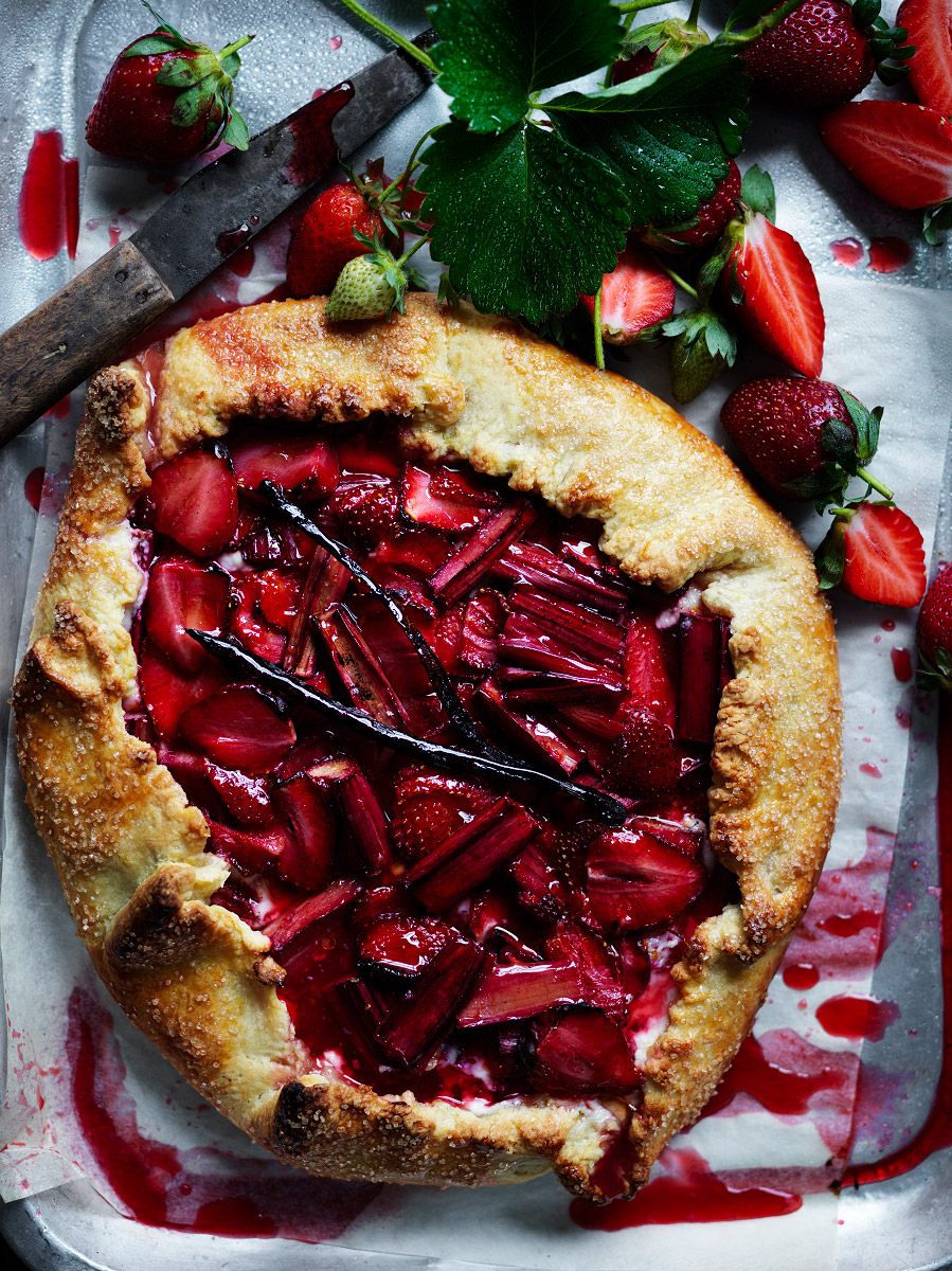20161027Strawberry-and-Rhubarb-Tart